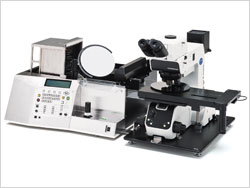 AL120 Wafer Handler and MX61L Semiconductor Inspection Microscope