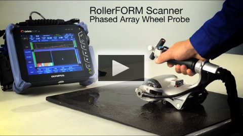 RollerFORM Phased Array Wheel Probe