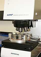 In situ squared straining system Olympus LEXT OLS4100