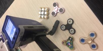 Testing toys with the Vanta handheld XRF analyzer