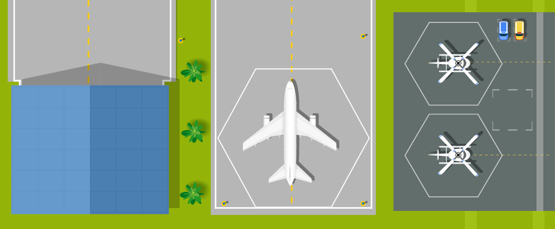 Soluciones para inspecciones aeroespaciales