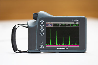 flaw detector features high dynamic pulser/receiver