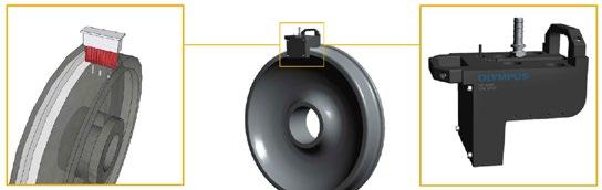 Olympus' wheel tread inspection solution.