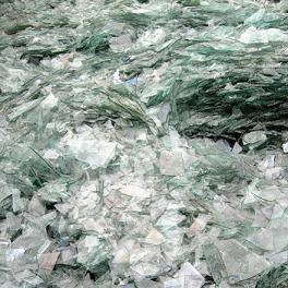 pile of glass