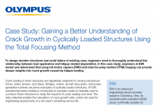 Case Study: Gaining a Better Understanding of Crack Growth in Cyclically Loaded Structures Using the Total Focusing Method