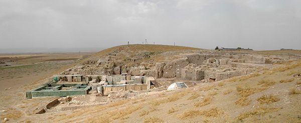 Palace excavations at Tell Mozan