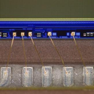 Bonding wire (75X)
